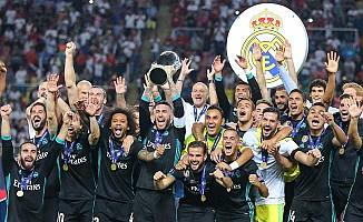 Real Madrid, 4. kez Süper Kupa'nın sahibi oldu