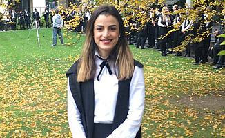 Sıla Uluçay'a Oxford'da Birincilik Ödülü