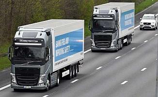Sürücüsüz kamyonlar İngiltere yollarında!