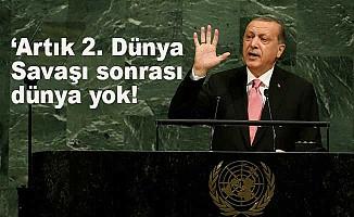 Erdoğan, BM 72. Genel Kurulu'na hitap etti: Artık dünya değişti!