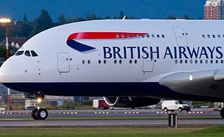 Fransa'da British Airways uçağı tahliye edildi!