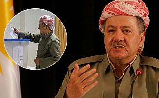 'İnat' Referandumu başladı; Barzani oyunu kullandı