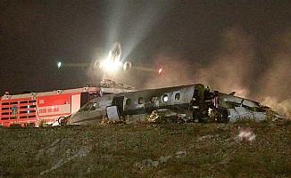 İşte Atatürk Havalimanı'ndaki uçak kazası