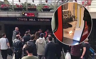 Londra metrosunda patlama!
