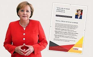 Merkel, Türkçe İlanla Türklerden Oy İstedi