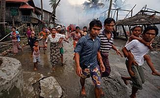 Myanmar'dan kaçan Arakanlı Müslüman sayısı ne kadar?