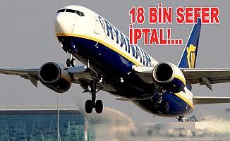 Uçuş iptalleri tam 400 bin yolcuyu etkileyecek