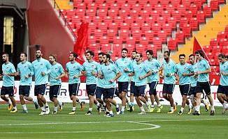 A Millî Takım, İzlanda maçına hazır