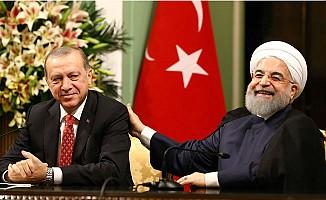 Erdoğan ve Ruhani'nin gündemi 'Irak Sorunu'
