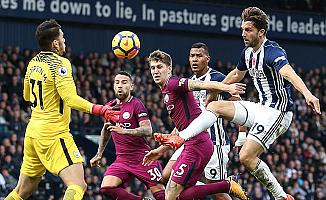 Manchester City galibiyet serisini bozmadı
