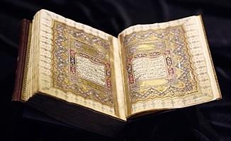 Mustafa Dede'nin tarihî mushaf-ı şerifi, Londra'da satışa çıktı