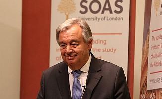 BM Genel Sekreteri'nden terörle mücadele mesajı