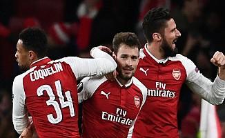 Arsenal'den gol yağmuru