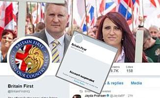 Aşırı sağcı grubun Twitter hesapları askıya alındı