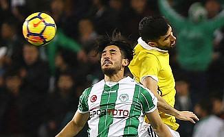 Atiker Konyaspor, Fenerbahçe'ye geçit vermedi