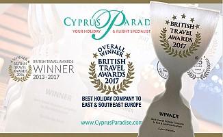 Britanya'nın 'Seyahat Oscar'ı, Cyprus  Paradise ve Cyprus Premier'in