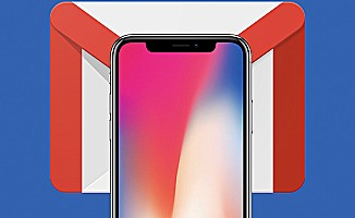 Gmail'e iPhone X desteği geldi