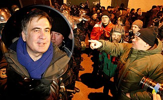 Gözaltındaki Saakaşvili açlık grevine başladı