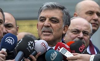Gül'den yeni KHK açıklaması
