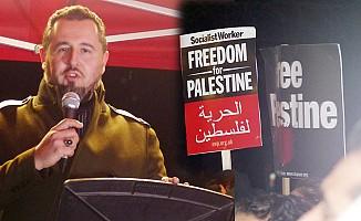 İslam Toplumu Milli Görüş'ten Londra'da 'Kudüs' Protestosu
