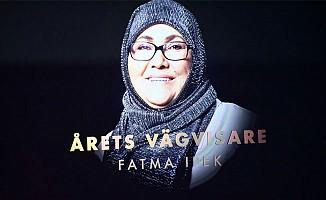 İsveç'te 'yılın kahramanı' Konyalı Fatma İpek Alcı