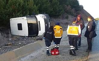 Kaza yapan Müge Anlı'nın ekibi, ölümden döndü