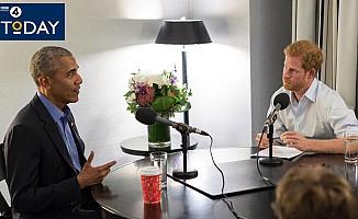 Prens Harry sordu, Obama cevapladı