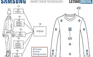 Samsung telefonları akıllı elbise ile şarj edecek