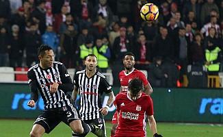 Sivas'ta Beşiktaş'a puan yok
