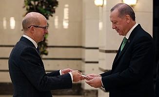 Cumhurbaşkanı, Birleşik Krallık Büyükelçisini kabul etti