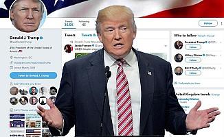 Trump'tan Irkçı Paylaşım için özür