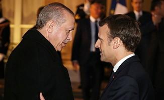 Erdoğan ve Macron'un gündemi Türkiye-AB ilişkileri