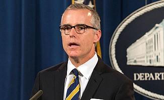 FBI Direktör Yardımcısı Andrew McCabe istifa etti