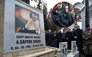 Gaffar Okan mezarı başında anılıyor