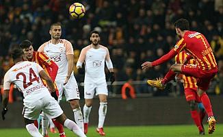 Galatasaray, Kayseri deplasmanında keyifli
