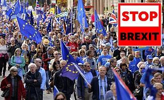 İngilizlerin AB aşkı depreşti! Şimdi de 'Stop Brexit' dalgası