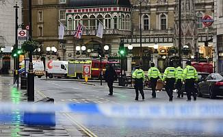 Londra'da metro istasyonu kapatıldı