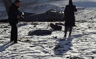 Isparta'daki uçak kazasında 3 şehitten 2'sinin kimliği belli oldu