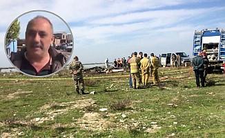 Askeri uçak düştü iki pilot şehit oldu