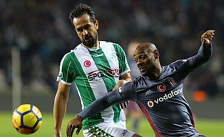 Atiker Konyaspor, Beşiktaş'a fırsat vermedi