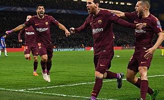 Barcelonalı Messi, gol listesine Chelsea'yi de ekledi