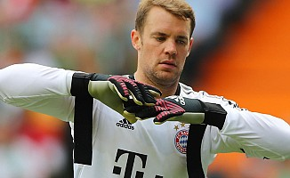 Bayern Münihli Manuel Neuer çalışmalara başladı