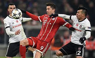 Beşitaş, Bayern Münih Deplesmanında 5-0 Kaybetti