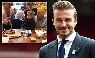David Beckham'dan Nusret'e teşekkür