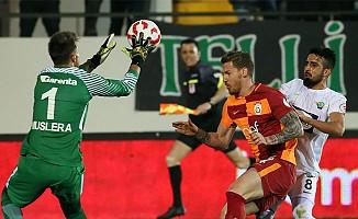 Galatasaray, Akhisar deplasmanında istediğini aldı