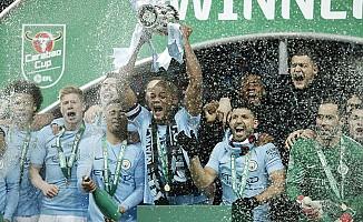İngiltere Lig Kupası Manchester City'nin oldu