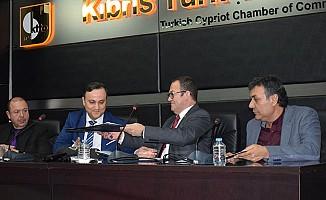 KKTC ekonomisi için iki Oda'dan ortak adım