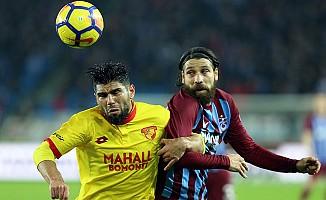 Trabzonspor, Göztepe'yi iyi ağırladı