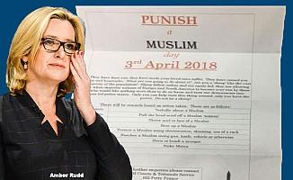 """İngiltere'de evlere """"Bir Müslüman'ı Cezalandır"""" mektubu gönderildi"""