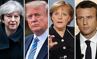 İngiltere, Fransa, Almanya ve ABD'den Rusya'ya karşı ortak açıklama